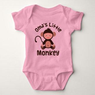Omas Little Monkey Baby Bodysuit