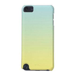 Ombre bleu et jaune coque iPod touch 5G