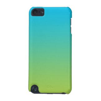 Ombre bleu et vert coque iPod touch 5G