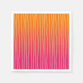 Ombre Colors Paper Napkin