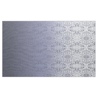 Ombre Damask Silvery Blue LOPe Fabric