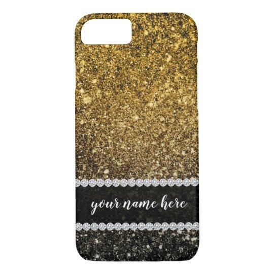 Ombre glitter sparkling Case-Mate iPhone case