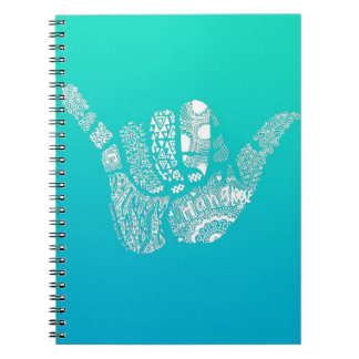 Ombre Hang Loose Notebook