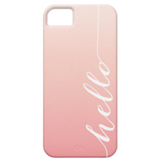 OMBRE HELLO | IPHONE 5 CASE