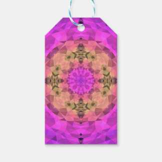 Ombre Kaleidoscope 1 Gift Tags