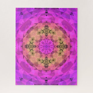 Ombre Kaleidoscope 1 Jigsaw Puzzle