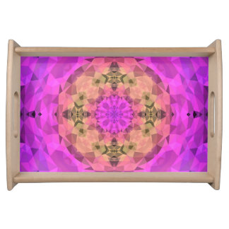 Ombre Kaleidoscope 1 Serving Tray