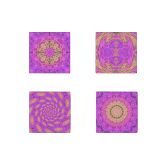 Ombre Kaleidoscope 1 Stone Magnets
