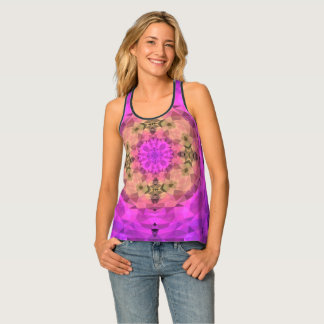 Ombre Kaleidoscope 1 Tank Top