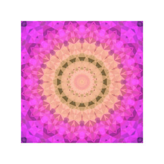 Ombre Kaleidoscope 2 Canvas Print