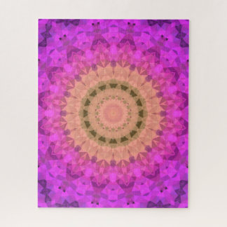 Ombre Kaleidoscope 2 Jigsaw Puzzle