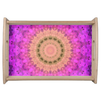 Ombre Kaleidoscope 2 Serving Tray