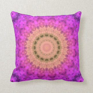 Ombre Kaleidoscope 2 Throw Pillow