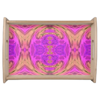 Ombre Kaleidoscope 3 Serving Tray