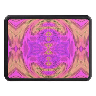 Ombre Kaleidoscope 3 Trailer Hitch Cover