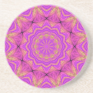 Ombre Kaleidoscope 4 Drink Coaster