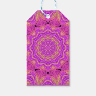 Ombre Kaleidoscope 4 Gift Tags