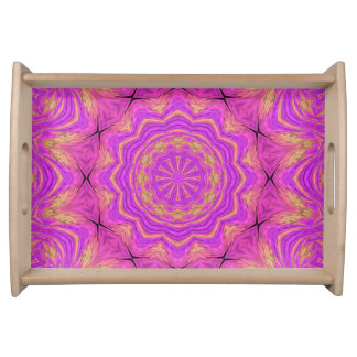Ombre Kaleidoscope 4 Serving Tray