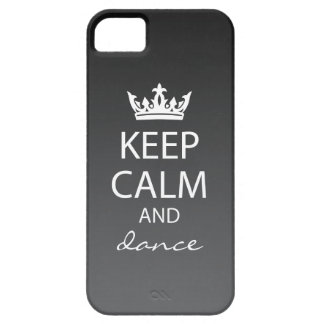 Ombre Keep Calm iPhone 5 Case-Mate Case (black) iPhone 5 Cases