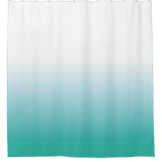 OMBRE MINT SHOWER CURTAIN