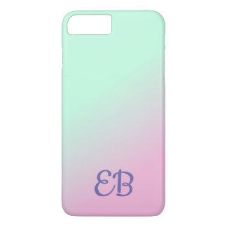Ombre Monogram Customizable iPhone Case