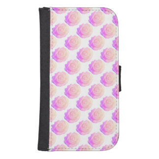 Ombre Pink Frosting Rose Change Background Color Galaxy S4 Wallets