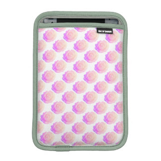 Ombre Pink Frosting Rose Change Background Color iPad Mini Sleeve