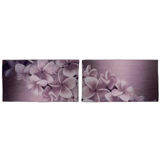 Ombre Plumeria Luxe (Reversible) Pillowcase