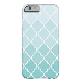 Ombre Quatrefoil iPhone 6 case