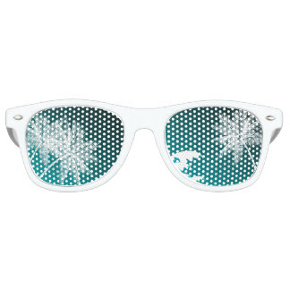 OMBRÉ TEAL TROPICAL PALMS PARTY SHADES