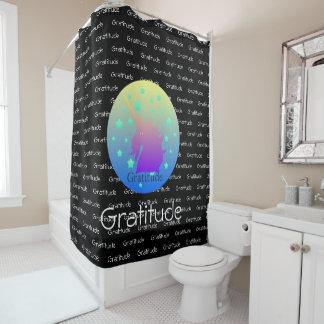 """Ombre unicorn with word gratitude"""