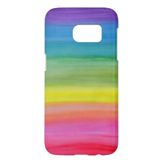 Ombre Watercolor Print Phone Case for Samsung S7