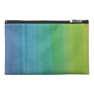 Ombre Watercolor Print Travel Bag Mermaid Colors