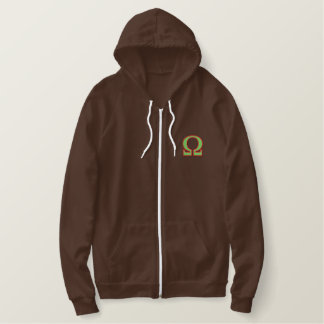 Omega Embroidered Hoodie