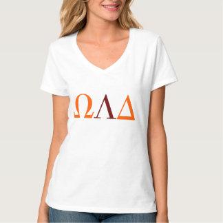 Omega Lambda Delta Women's V-Neck T-Shirt