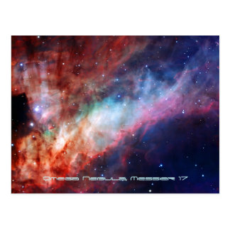 Omega Nebula (Messier 17 or NGC 6618) Postcard