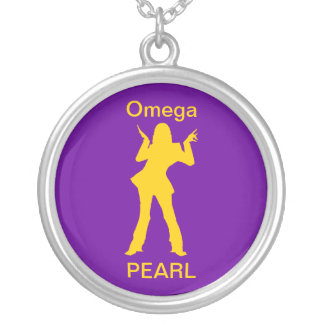Omega Pearl Necklace