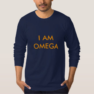 OMEGA PSI PHI FRATERNITY - I AM OMEGA T-SHIRT LONG