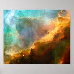 Omega Swan Nebula, M17 Poster