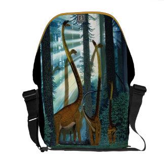 Omeisaurus Dinosaur Messenger Bag Gregory Paul