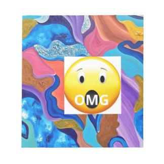 OMG Blossom Notepad