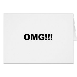 OMG!!! CARD