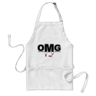 OMG Chipped Fang Apron