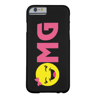 OMG Cute Emoji iPhone Case