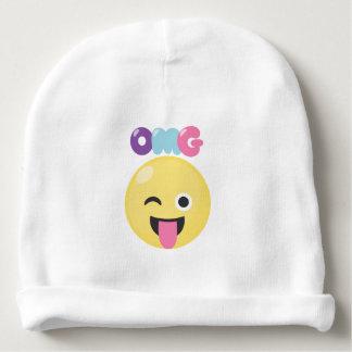 OMG Emoji Baby Beanie