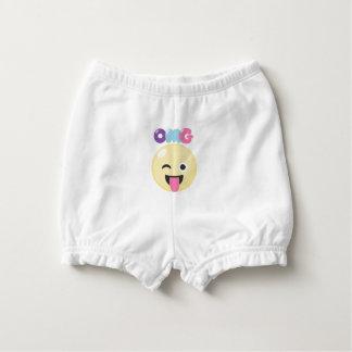 OMG Emoji Diaper Cover