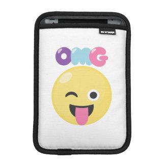 OMG Emoji iPad Mini Sleeve