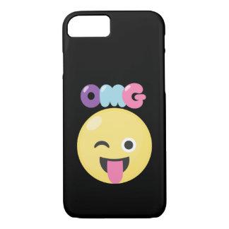 OMG Emoji iPhone 8/7 Case
