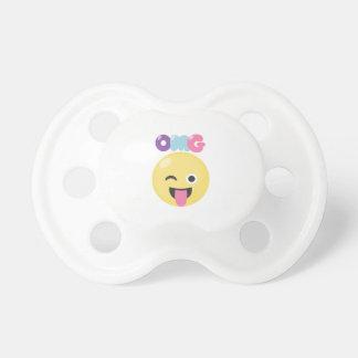 OMG Emoji Pacifier