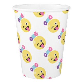 OMG Emoji Paper Cup